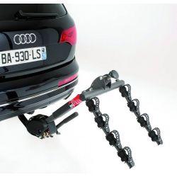 Porta-bicicletas para bola de reboque MOTTEZ RECLINABLE 4