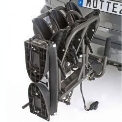 Porta-bicicletas para bola de reboque MOTTEZ DOBRÁVEL 3 PRO