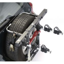 Porta-bicicletas para roda MOTTEZ 4x4 3 bicicletas