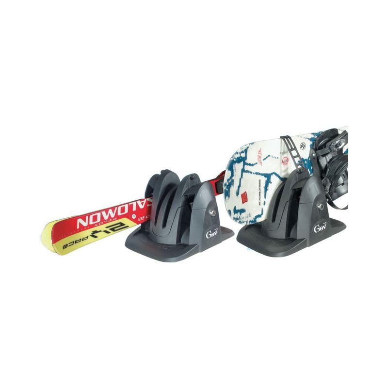 Porta esquis e porta pranchas magn tico gev shark - Porta snowboard magnetico ...