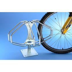Suporte de chão para 3 bicicletas ESTRELA