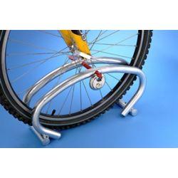 Suporte de de chão 1 bicicleta com cadeado