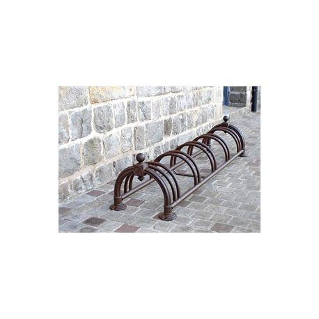 Aparacabicicletas 5 bicicletas versallese Negro