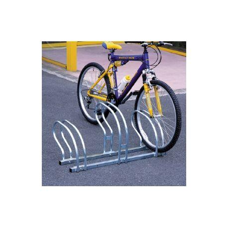 Aparca bicicletas lado a lado 3 bicicletas
