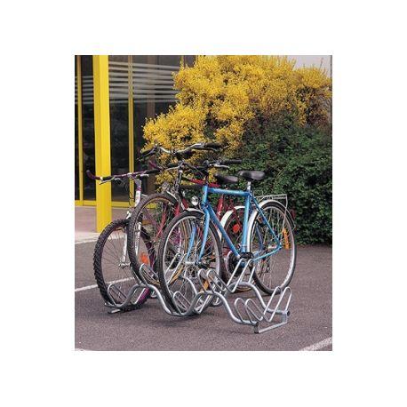 Aparca bicicletas lado a lado 5 bicicletas