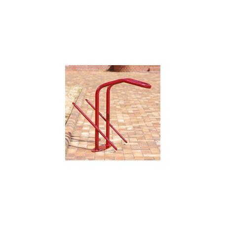 Aparcabicicletas 2 bicicletas para candado en U