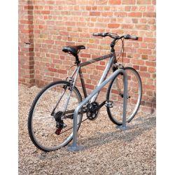 Suporte de chão para 2 bicicletas TRIÂNGULO