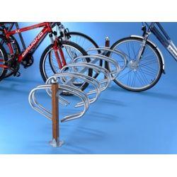 Suporte de chão em madeira para 10 bicicletas
