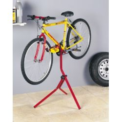 Suporte de estacionamento e reparação de bicicletas