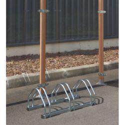 Suporte de chão para 3 bicicletas