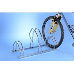 Suporte de chão alto/baixo para 3 bicicletas