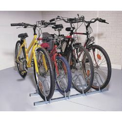Soporte suelo 4 bicicletas