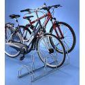 Suporte de chão alto/baixo para 4 bicicletas