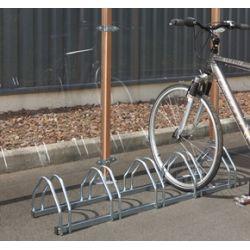Soporte suelo 5 bicicletas