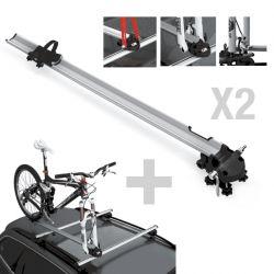 Kit barras e suporte de bicicletas Railling PRO