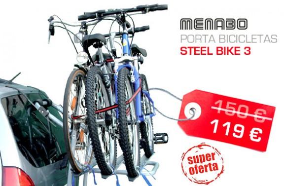 porta bicicletas traseira Steel Bike 3