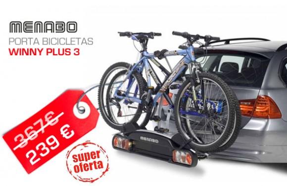 Porta bicicletas para bola de reboque WINNY PLUS 3